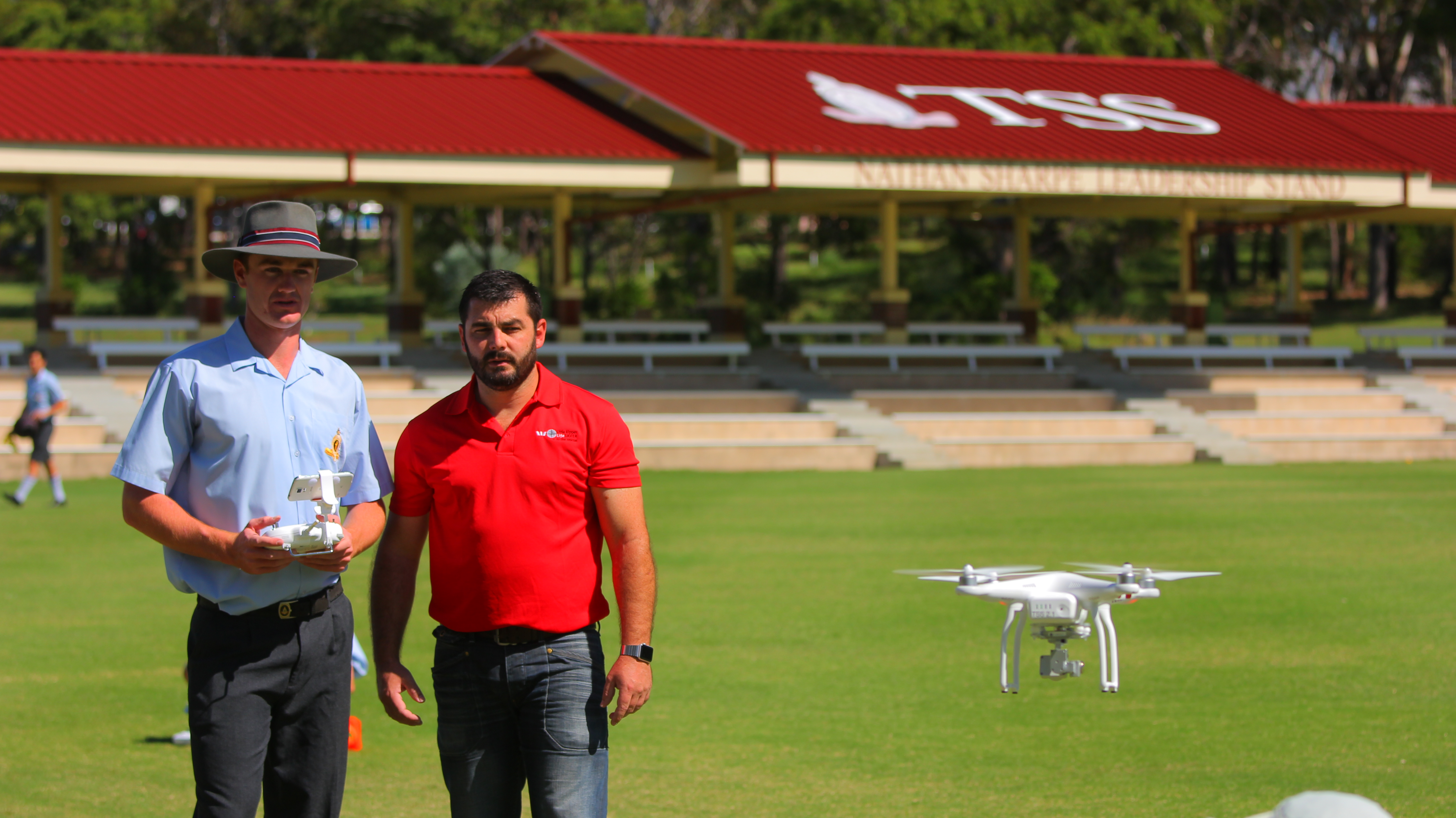 Westpac Little Ripper drones and TSS partner to train year 12 students.